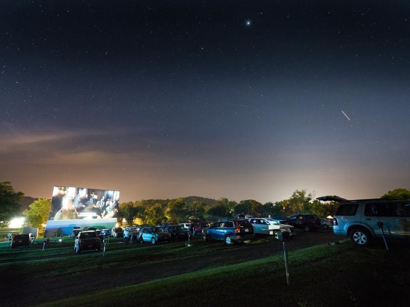 Classic Drive-In Movie Theaters Still Exist in Virginia's Shenandoah Valley