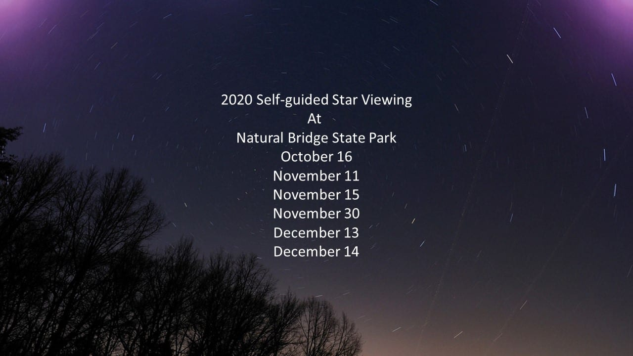 Self-Guided Star Viewing