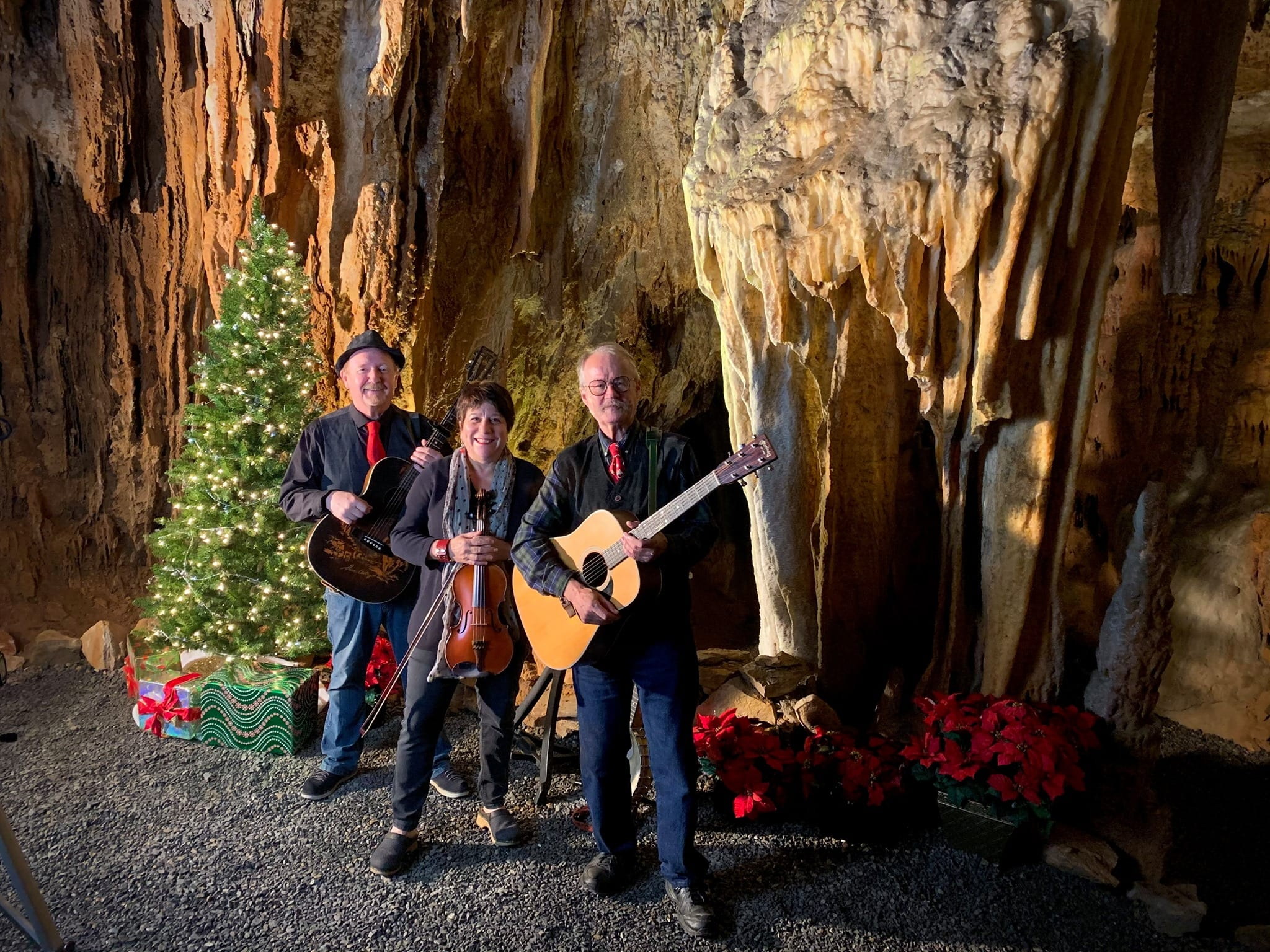 Virtual Caroling in the Caverns