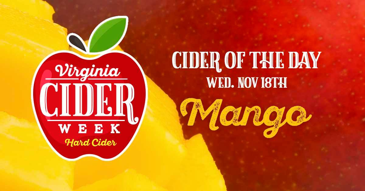 Virginia Craft Cider Week: Mango Cider