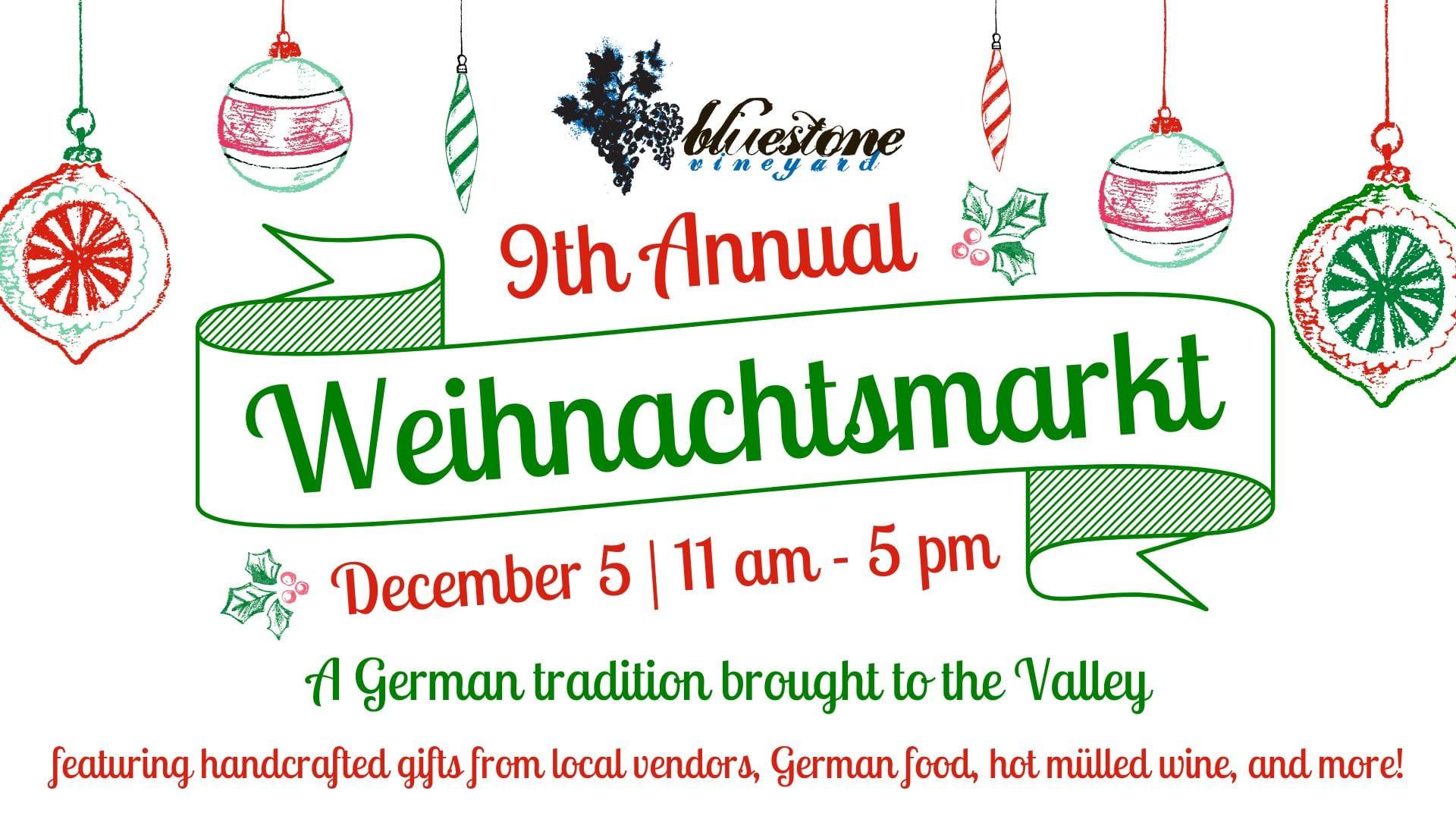 9th Annual Weihnachtsmarkt