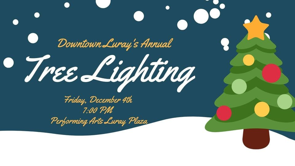 Downtown Luray's Annual Tree Lighting