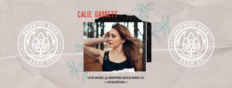 Calie Garrett at Skipping Rock Beer Co.
