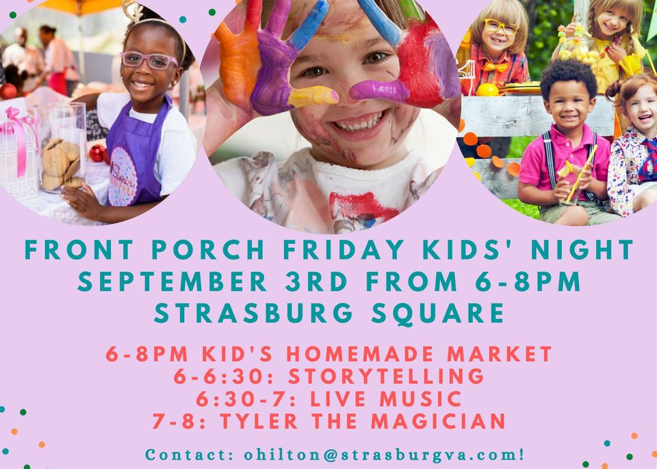 Front Porch Friday: Kids Edition!