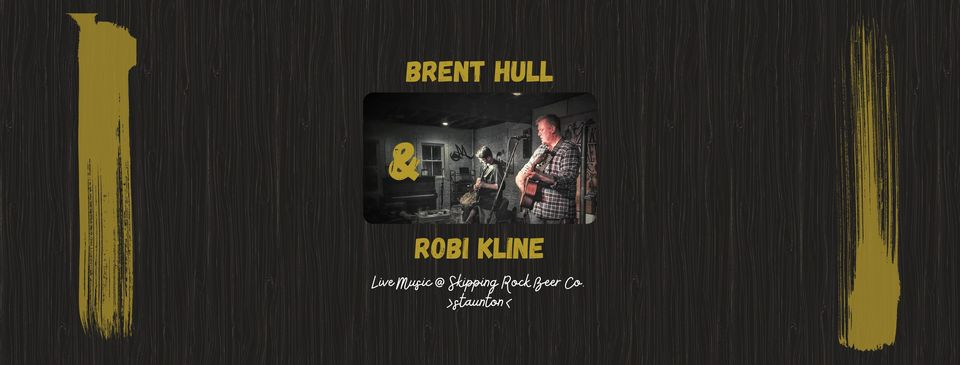 Brent Hull & Robi Kline at Skipping Rock Beer Co